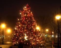 city christmas tree lighting
