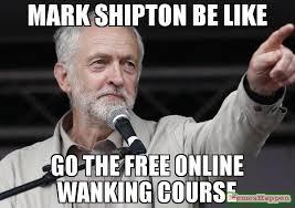 Wanking Memes - mark shipton be like go the free online wanking course meme