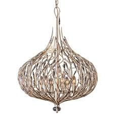 gold pendant light fixture varaluz bask 6 light gold dust pendant with clear premium crystal