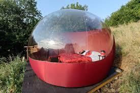 chambres bulles un hébergement insolite en ardèche les bulles transparentes