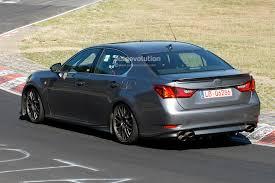 new lexus 2015 spyshots lexus gs f performance sedan prototype features trd
