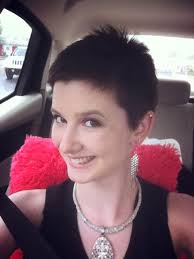 photos of short hair for someone in their sixes donated her hair to someone with cancer james babb