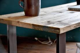 Office Wood Desk by Rustic Wood Plank Desk Best Home Furniture Decoration