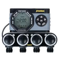 melnor advanced 4 zone electronic water timer 53280 hd the home