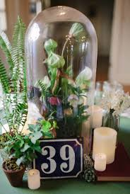 jar floral centerpieces chateau bellevue winter wedding unique bell jar floral