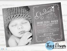 Example Of Baptismal Invitation Card Christening Invitation Baptism Invitation Chalkboard