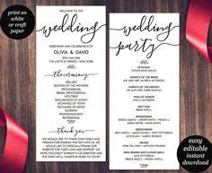 cheap wedding programs in loving memory wedding sign cruise wedding printable
