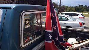 Car Window Flags Armed Man Confronts Nc Teen For Flying Confederate Flag In Truck