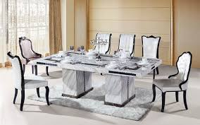 How To Incorporate Marble Dining Table Into Your Interior Design - Marble dining room furniture