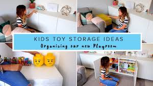 Kid Toy Storage Ideas Kids Toy Storage Ideas Organising Our New Play Room Youtube
