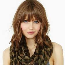 in front medium haircuts 50 medium haircuts with bangs to bring movement and flexibility to