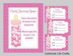 baby shower guessing baby shower printable candy jar or bottle guessing