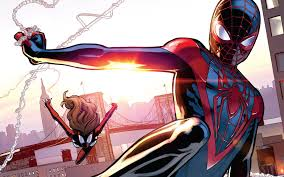 finally miles morales big screen spider man wired