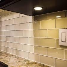 green glass backsplashes for kitchens glass subway tile kitchen backsplash andrea outloud