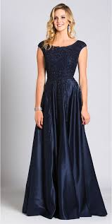 gown designs floor length navy blue gown lara design 33495 558