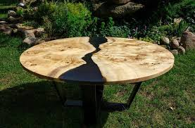 live edge round table live edge big round river coffee table with epoxy resin