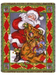 themed throws a wonderful selection of santa claus throw blankets and christmas