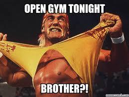 Gym Birthday Meme - image jpg