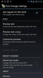 how to change the font on android how to change font in android phone tablet device tutorial