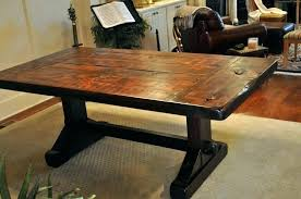 from coffee table to dining table dining table plans adamtassle com