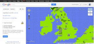 google maps 8 bit take that dublin ireland