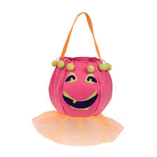 trick or treat bags pun kin girl trick or treat bag ecopartytime