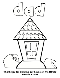 christian fathers day coloring pages free large images