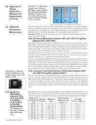 optional electronic modulation reznor sce unit installation