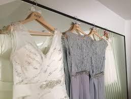 Wedding Dress Hanger Personalised Wedding Dress Hangers Bespoke For The Bride