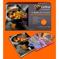 coffret livre de cuisine la cuisine indienne facile coffret découverte le livre de