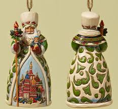 jim shore heartwood creek ornament collection russian santa