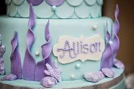 mermaid birthday cake the mermaid