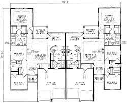 architectural design floor plans plan 59339nd spacious duplex design duplex plans duplex design
