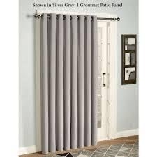 Patio Door Thermal Blackout Curtain Panel Amazon Com Eclipse Thermal Blackout Patio Door Curtain Panel 100 X