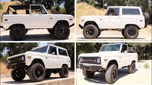 icon bronco icon br restored and modifed ford bronco 50 youtube