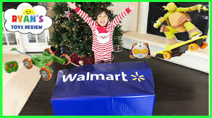 surprise toys for kids christmas present opening walmart top toys