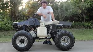 propane converted atv 9 steps