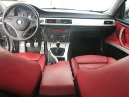 bmw red interior 2007 bmw 335i cpo space gray and coral red interior