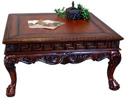 vintage wood coffee table square antique coffee table coffee tables