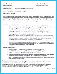 Resume Database Management Software How Professional Database Developer Resume Must Be Written