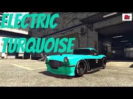 03 secret modded colors electric turquoise gta 5 online car