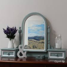 Blue Vanity Table Lilyfield Life Duck Egg Blue Dressing Table Vanity Mirror Set