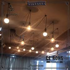 Spider Chandelier Vintage Edison Ajustable Diy Ceiling Spider L Light