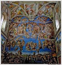 michelangelo u0027s u0027the last judgment u0027 at the sistine chapel