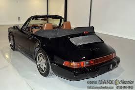 1990 porsche 911 convertible 1990 porsche 911 cabriolet for sale manx classic carsfor sale