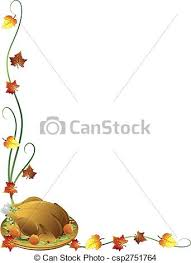 drawing of thanksgiving turkey border thanksgiving border with a