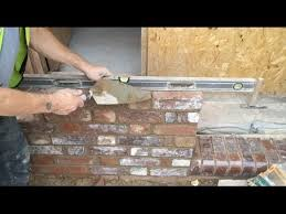 Build A Shop How To Build A Shop Front Up Flemish Bond Part 2 Youtube