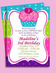 design cupcake birthday invitation cupcake birthday invitation