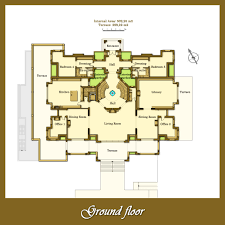 ground floor plans floor plans villa for sale in la zagaleta