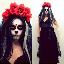 halloween skeleton costume ideas diy make up catrina buscar con google peinados y maquillaje